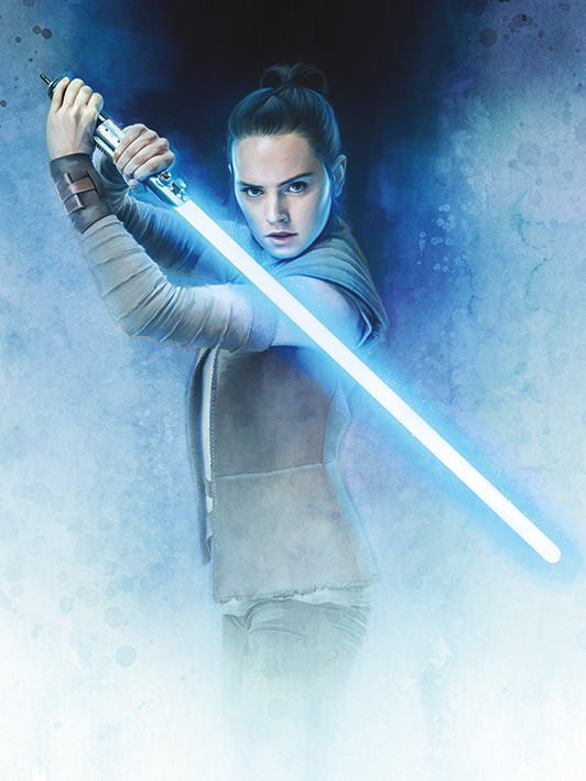 Rey (as of The Last Jedi)