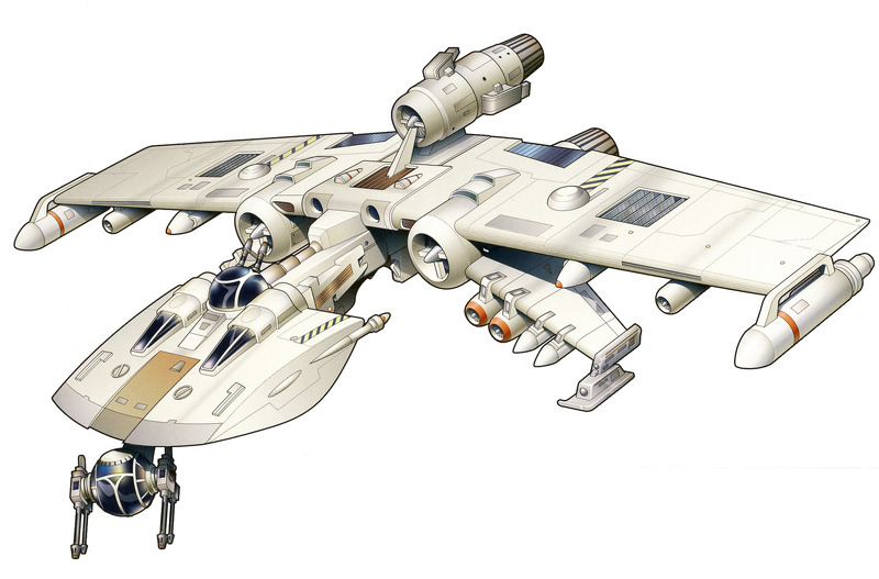 Koensayr K-Wing Assault Starfighter