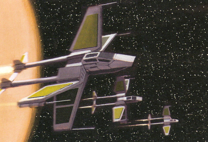 Incom Corporation X-83 TwinTail starfighter