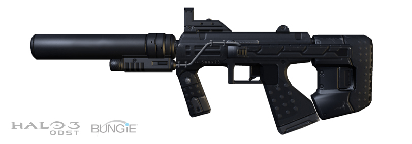 halo 3 odst wallpaper. M7S SUBMACHINE GUN