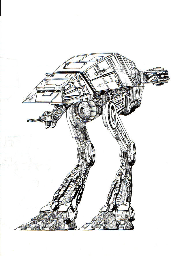 Imperial All Terrain Super Scout Transport (AT-SST)