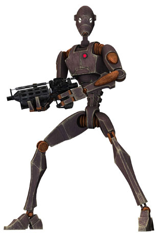 Baktoid Combat Automata BX-series droid commando