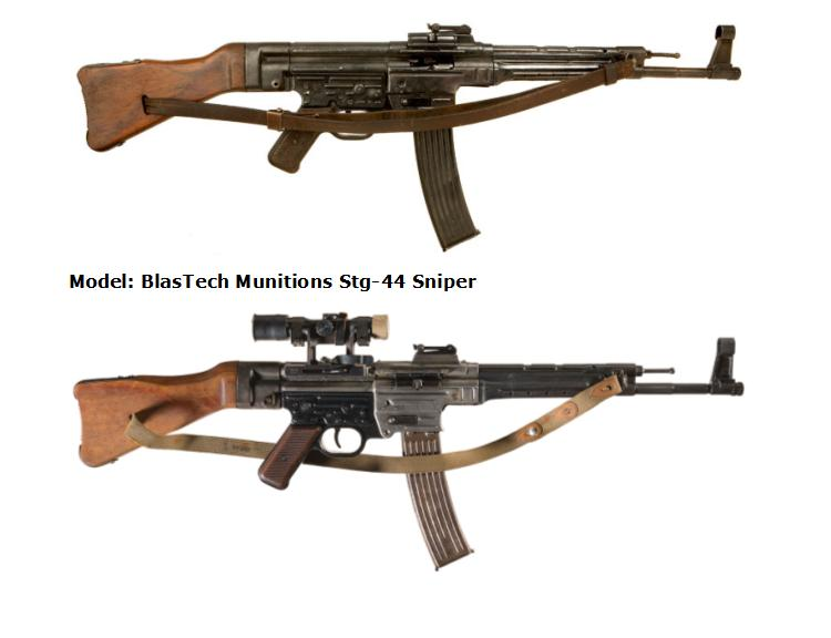 BlasTech Munitions Strumgewehr STG-44 & Sniper Model