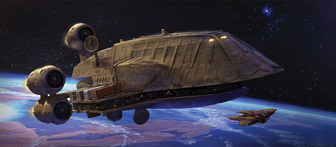 Corellian Engineering Corporation C-ROC Gozanti-class Cruiser