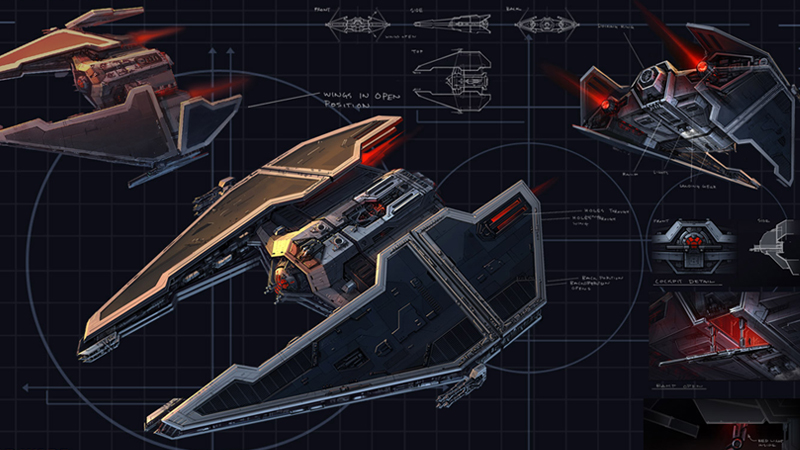 FURY-CLASS IMPERIAL INTERCEPTOR