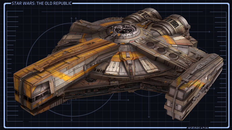 CORELLIAN XS LIGHT FREIGHTER