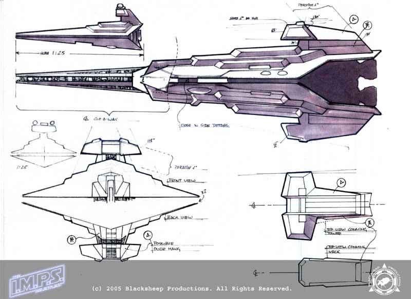 Rpggamer Starships D6 Kdy Revenge Class Heavy Carrier