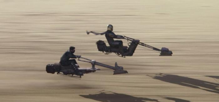 Mobquet Swoops and Speeders Zephyr-J Speeder bike