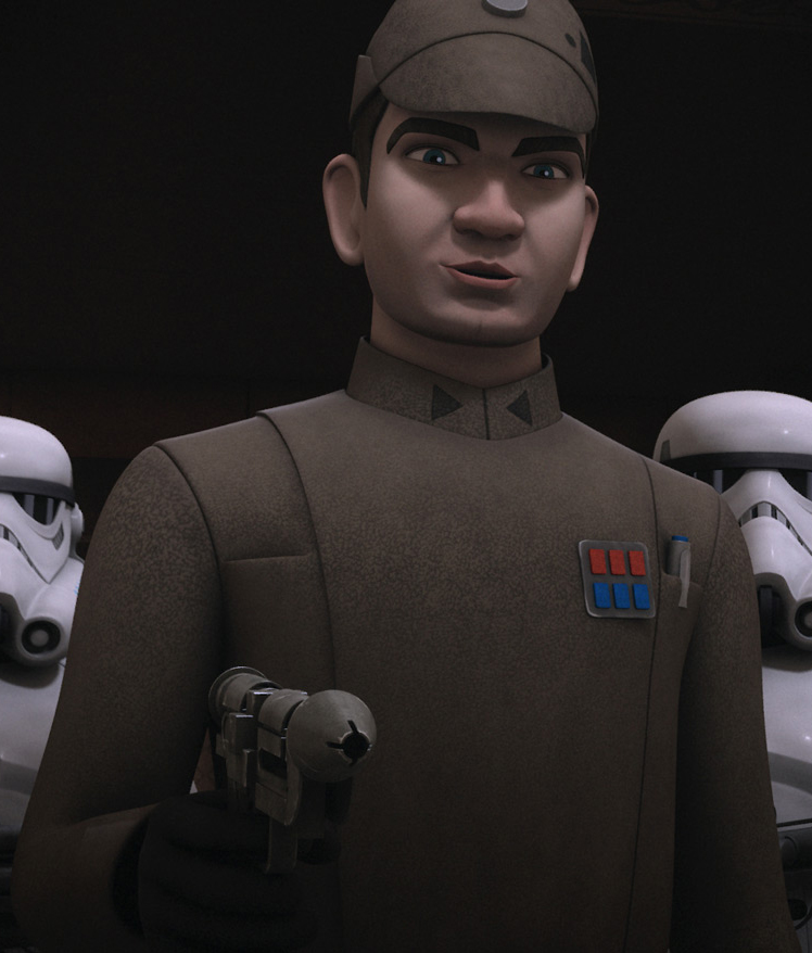 Captain Slavin (Imperial Officer)