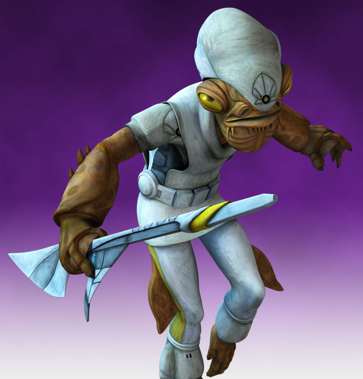 Captain Gial Ackbar (as of The Clone Wars)