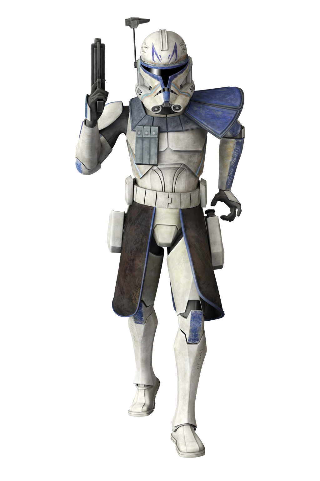 CT-7567 Rex (as of the Clone Wars)