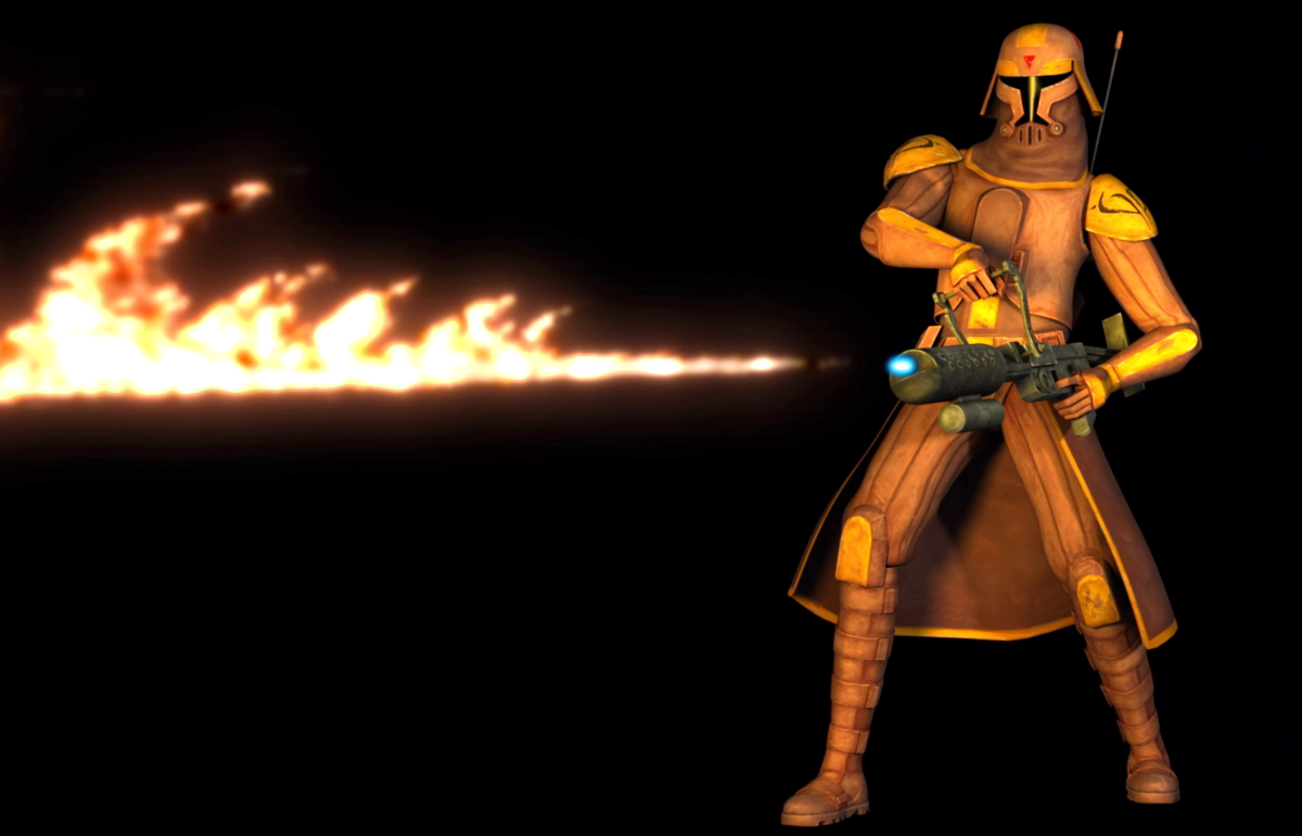 Clone flame trooper