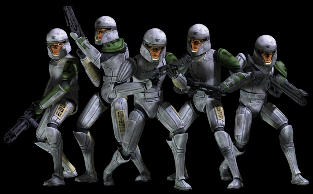 Clone training armor