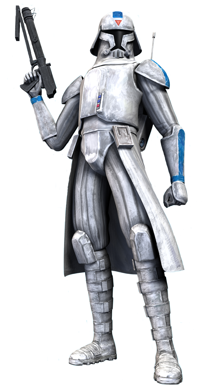 Clone cold assault trooper