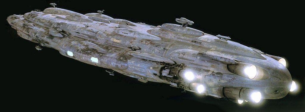Starships D6 Mon Calamari Commandship Home