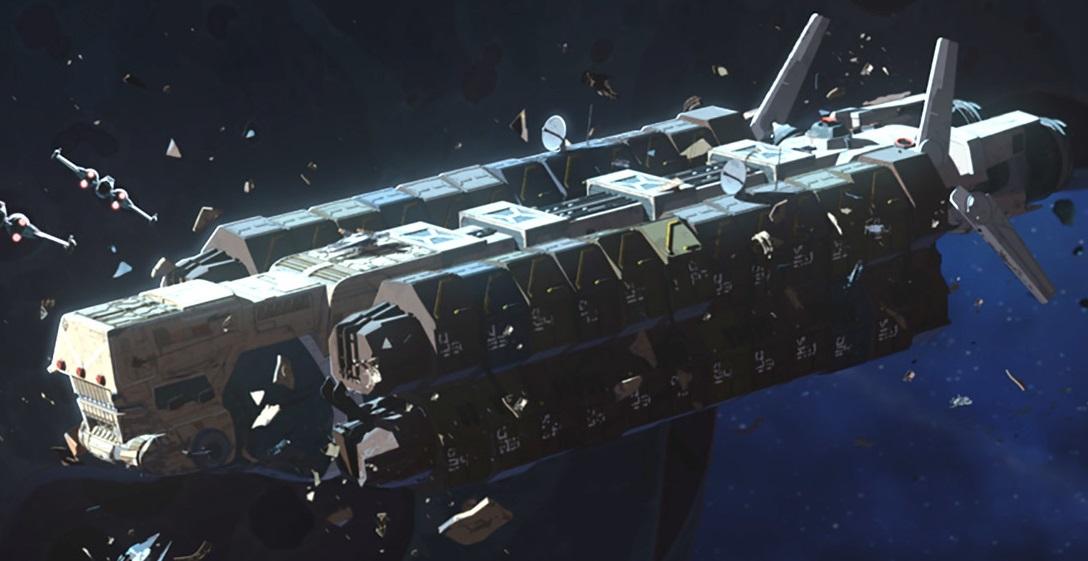 RPGGamer org (Starships D6 / Darius G-class freighter)