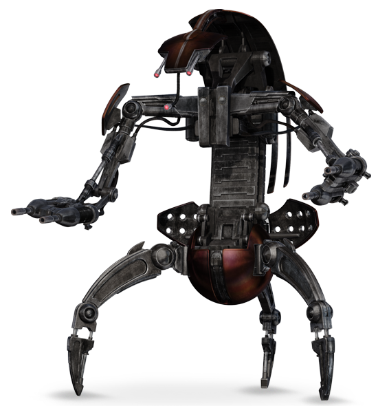 Colicoids Destroyer Droid (Droideka)
