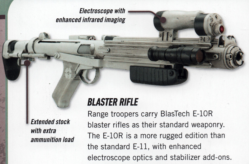 Blastech Industries E-10R blaster rifle