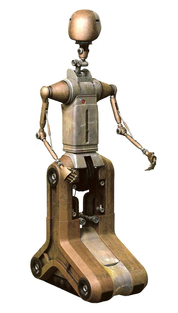SoroSuub Corporation FA-4 series Pilot droid