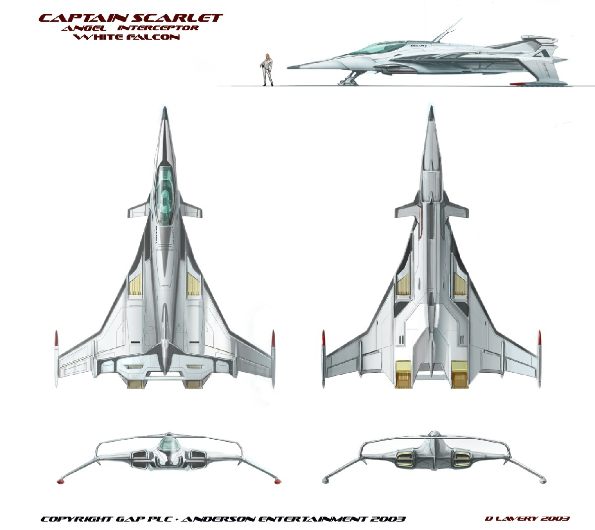 SPECTRUM White Falcon ATF (Advanced Tactical Fighter)