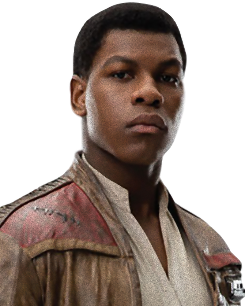 Finn (as of The Force Awakens)