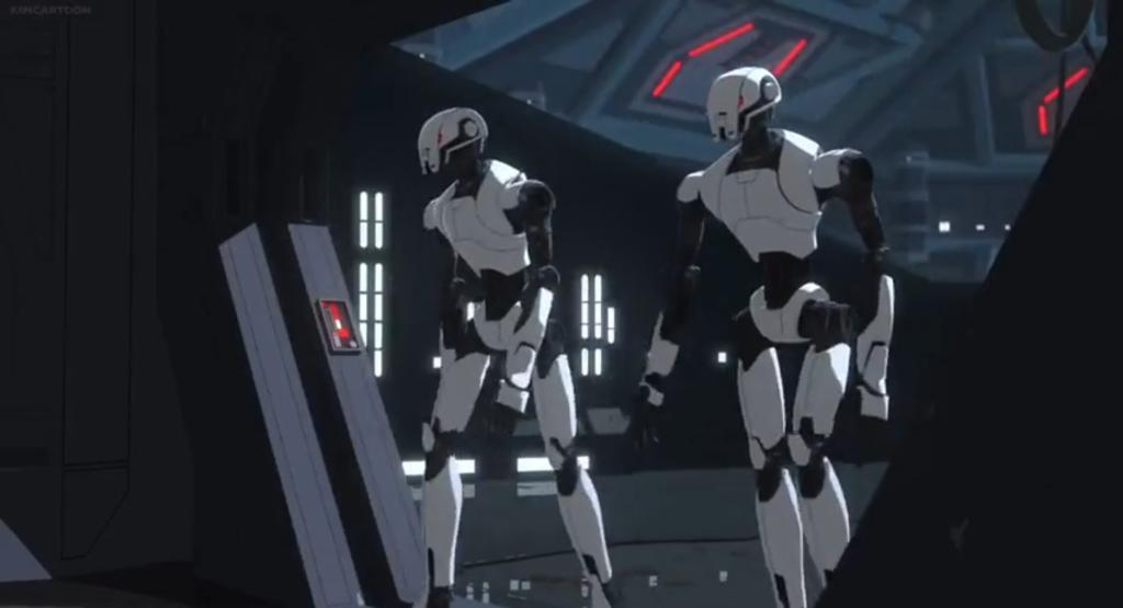 First Order Security Droid