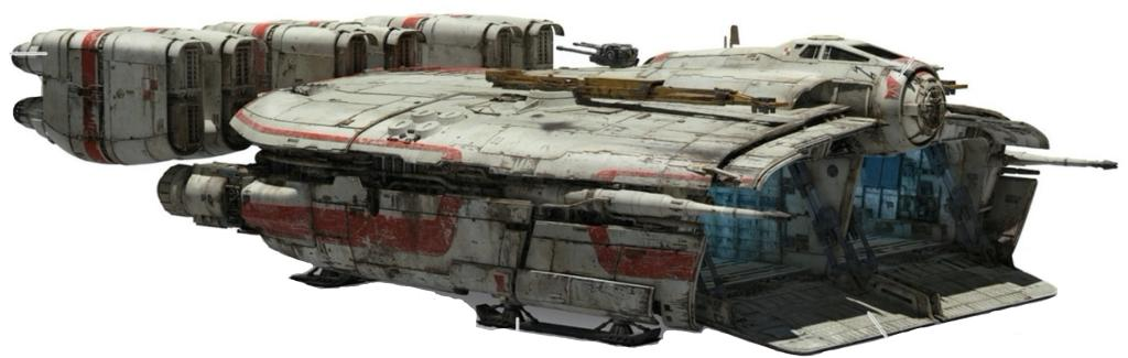 Corellian Engineering Corporation YC-123B Transport Hauler