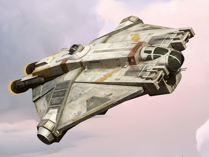 Corellian Engineering Corporation VCX-100 light freighter