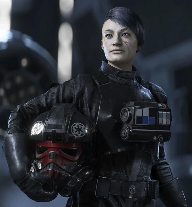 Havina Vonreg (Human Tie Fighter Pilot)