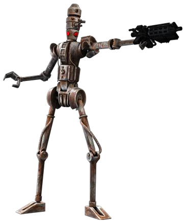 Holowan Mechanicals IG-86 sentinel droid