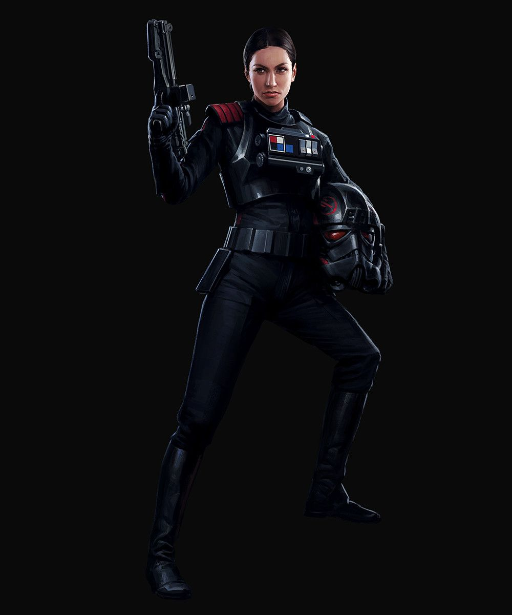 Iden Versio (Human Female Ex-Imperial Special Forces Commander)