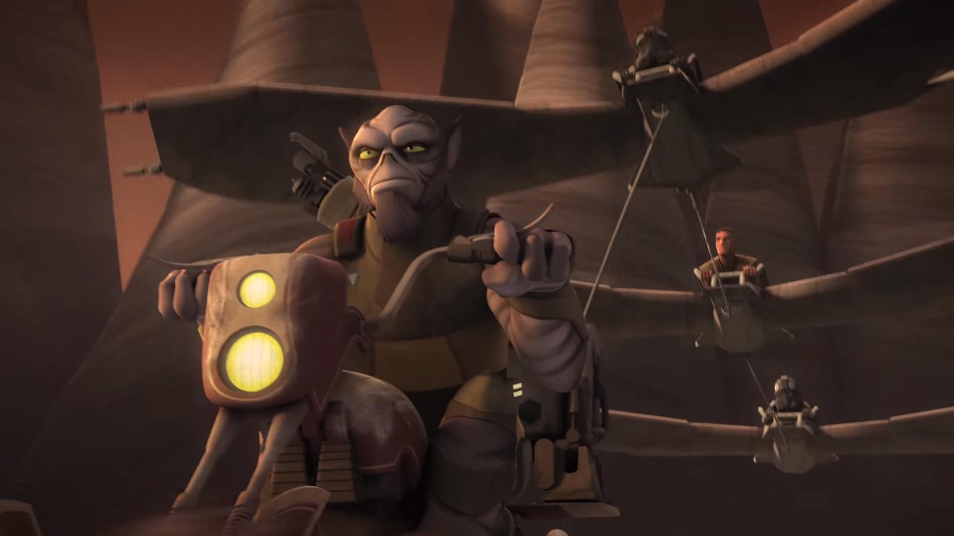 Rpggamer Org Review Star Wars Rebels Season 4 Episode 10 Jedi Night