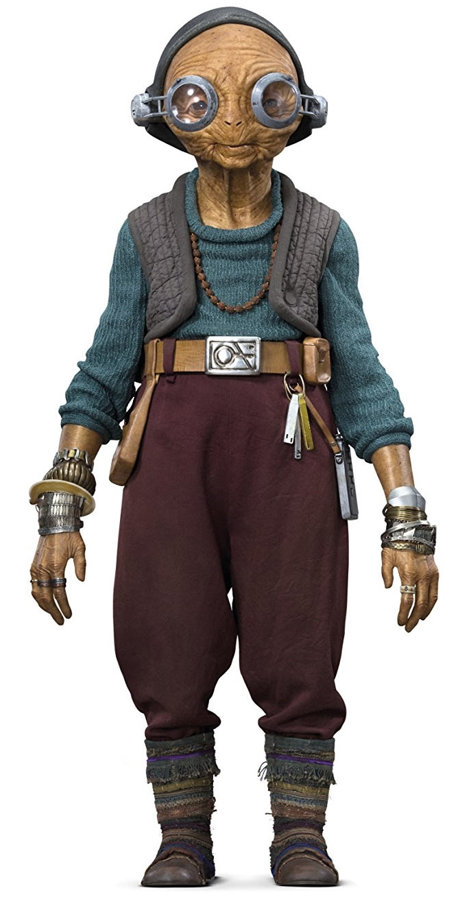Maz Kanata (As of The Last Jedi)