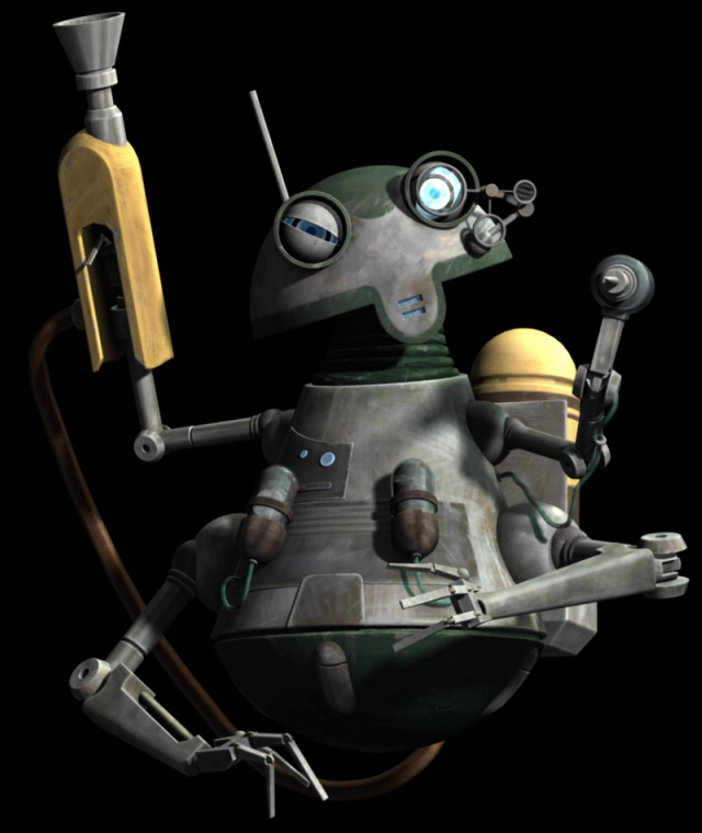 Unidentified medical droid