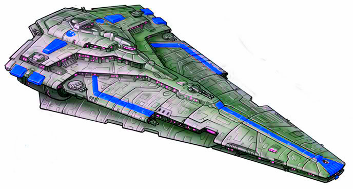 Republic Engineering Corporation Nebula II-class Star Destroyer