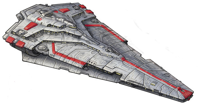 Republic Engineering Corporation Nebula-class Star Destroyer