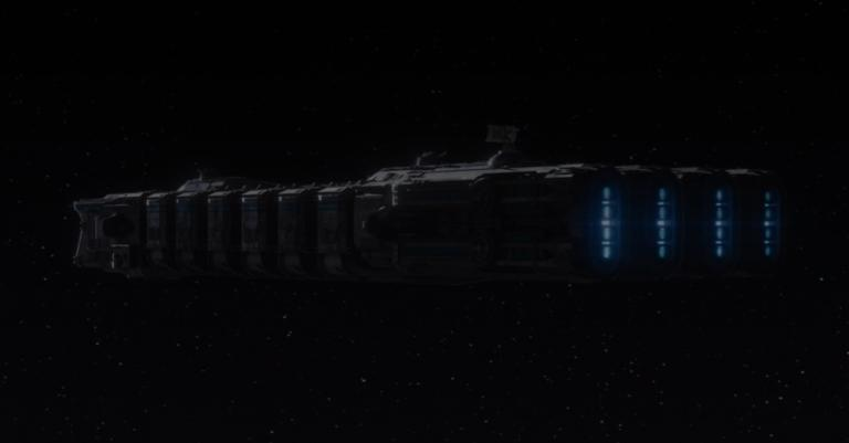 New Republic prison ship