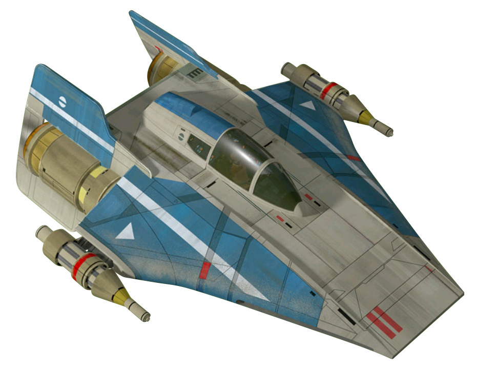 Kuat Systems Engineering RZ-1 A-wing interceptor