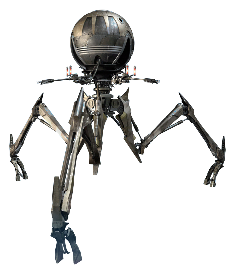 Techno Union octuptarra magna tri-droid