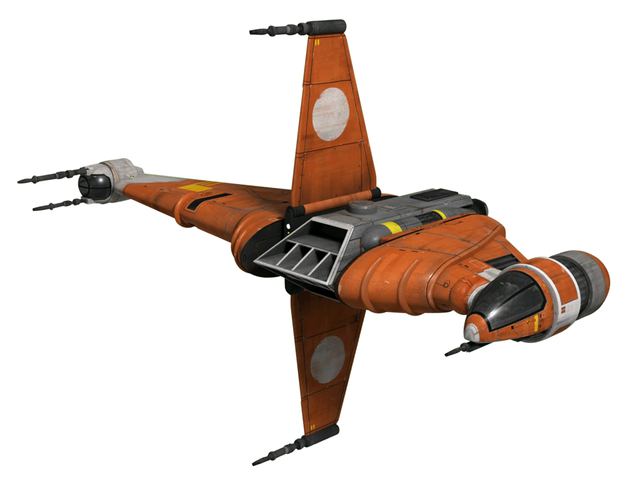 A/SF-01 B-wing starfighter prototype B6