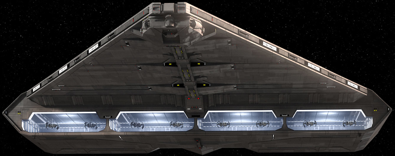 SoroSuub Corporation Quasar Fire-class cruiser-carrier