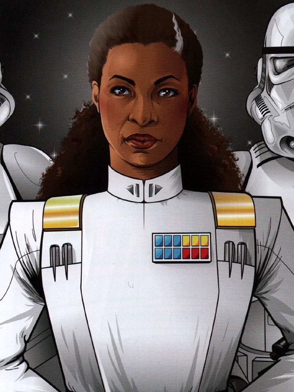 Vice Admiral Rae Sloane (Human Imperial Officer)