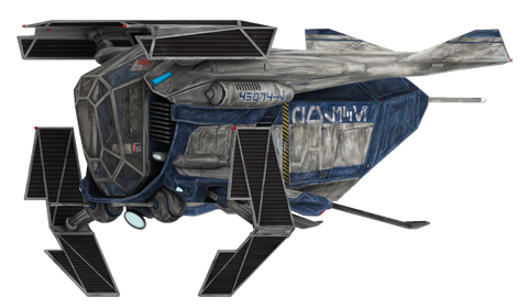 Republic police gunship
