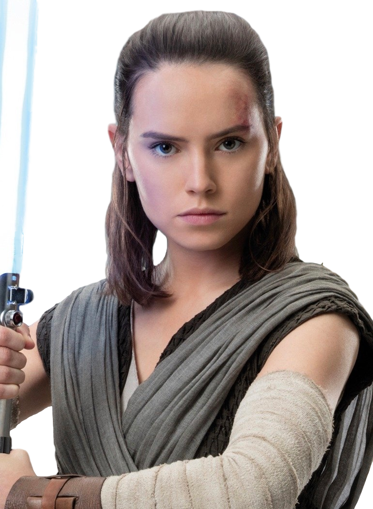 Rey (as of Force Awakens)