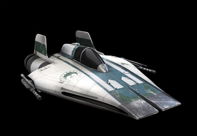 Kuat Systems Engineering RZ-1 A-wing Interceptor (squadrons)
