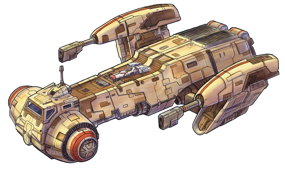 Corellian Engineering Corporation Starrunner-class starship