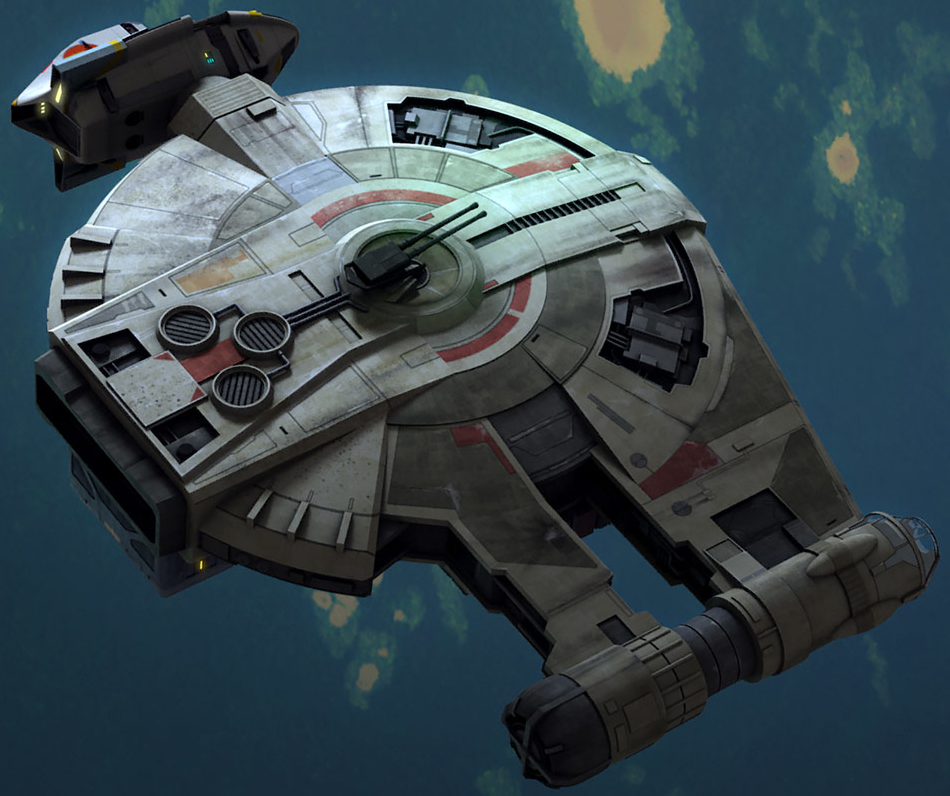Corellian Engineering Corporation YT-2400 light freighter