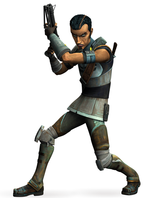 Saw Gerrera (as of Clone Wars)