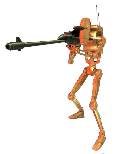 Battle droid assassin