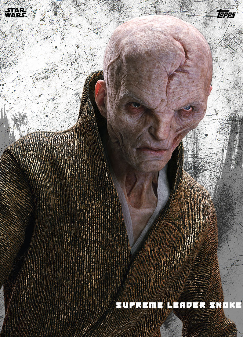 Snoke, Supreme Leader of the First Order